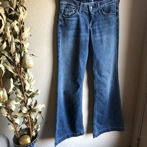7 for all mankind Ginger flare leg jeans